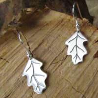 Oak Leaf Earrings thumbnail