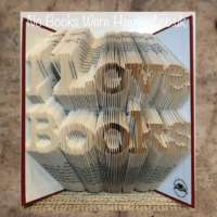 I Love Books Book Sculpture thumbnail
