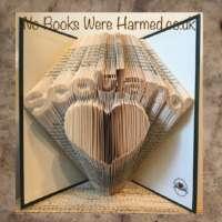 Scotland over Heart Book Sculpture thumbnail