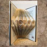 NC500 North Coast 500 Book Sculpture thumbnail