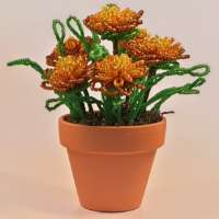Marigolds Flower Pot thumbnail
