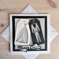 """Happy Couple"" Wedding Card thumbnail"