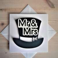 """Mr and Mrs"" Wedding Card thumbnail"