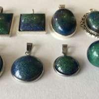 Aurora Pendant with Silver Chain thumbnail