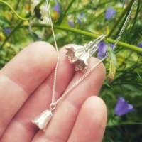 Harebell Flower Necklace thumbnail