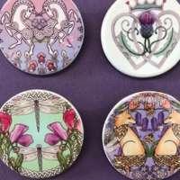 Ceramic Brooch thumbnail