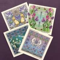 Highland Celtic Art 'Favourites' 4 Card Pack thumbnail