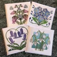 Highland Celtic Flower 4 Card Pack thumbnail