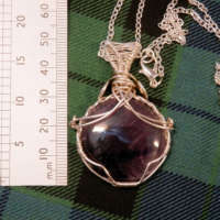 Star Amethyst Gemstone Necklace thumbnail