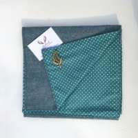 Blue Tweed Scarf thumbnail