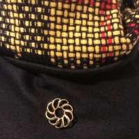 Black Cashmere Poncho thumbnail