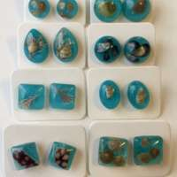 Sea Blue Beach Studs thumbnail