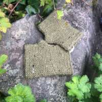 Olive Green Wrist Warmers thumbnail