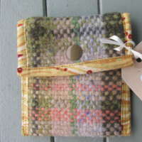 Small Handwoven Purse - Rosemarkie thumbnail
