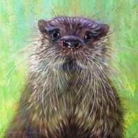 Otter Giclee Print thumbnail