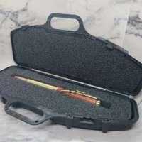 Cocobolo Gold Bullet Pen in a Replica Gun Case thumbnail