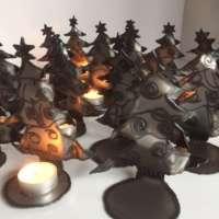Christmas Tree Tealight Candle Holder thumbnail
