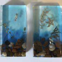 Beach Cube Ornament thumbnail