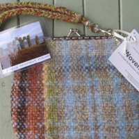 Large Handwoven Clasp Purse - Fyrish Monument thumbnail