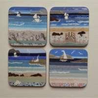 Seascape Design Coasters thumbnail