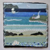 Cottage by the Shore Slate Small thumbnail