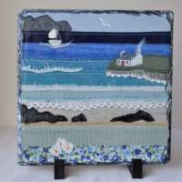 Cottage by the Shore Slate Large thumbnail