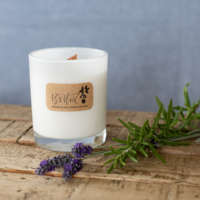 Raspberry and Peppercorn Soy Wax Candle thumbnail