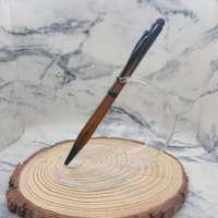 Cocobolo Slimline Stylus Pen with Black Finish thumbnail