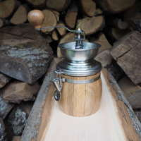 Oak Coffee Grinder thumbnail