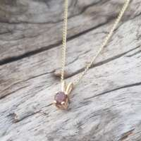 Glenshiel Garnet Gold Jewellery Set thumbnail
