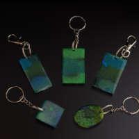 Aurora Borealis Keyring thumbnail