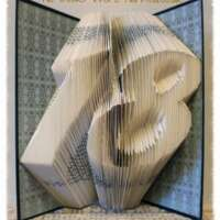 Milestone Number Book Sculpture thumbnail