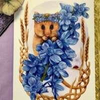 Hazel Dormouse Card thumbnail