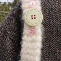 Peach Parfait Crocheted Handbag thumbnail