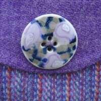 Purple Harris Tweed Handbag thumbnail