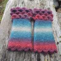 Heather Crochet Fingerless Gloves thumbnail