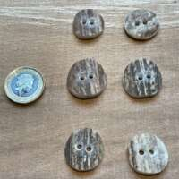 Surface Textural Round Antler Buttons thumbnail