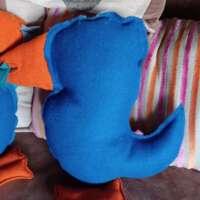 Decorative Stuffed Puffin Shaped Pillow Cushions thumbnail