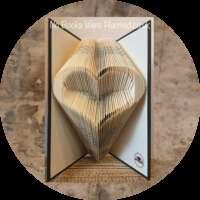 Open Heart Book Sculpture thumbnail