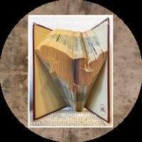 Salmon Book Sculpture thumbnail