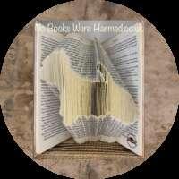Westie Book Sculpture thumbnail