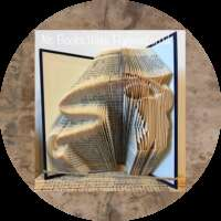 Fly Fisher Book Sculpture thumbnail