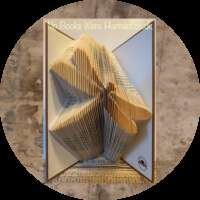 Dragonfly Book Sculpture thumbnail