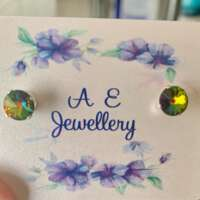 Rainbow Sterling Silver Studs thumbnail