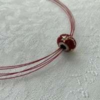 Swarovski Crystal Becharmed Necklace thumbnail