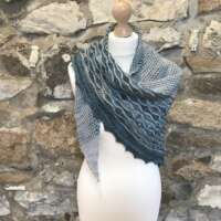 Loch Slappin Seafoam Shawl thumbnail