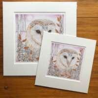 Arwen Owl Mounted Print thumbnail
