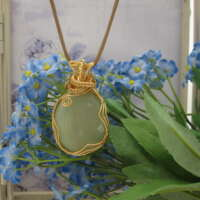 Green Agate Pendant thumbnail