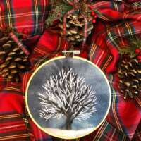 Tree 6″ Embroidery Hoop thumbnail