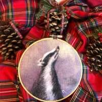 Badger 6″ Embroidery Hoop thumbnail